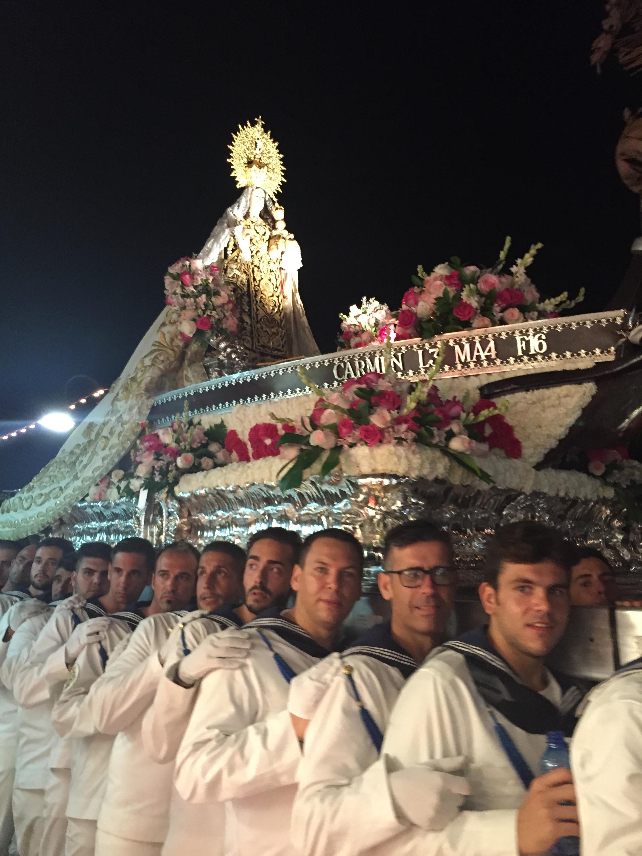 Virgen del Carmen Carihuela