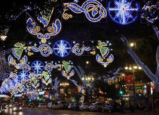 Kerst en oud en nieuw in Malaga