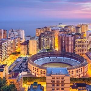 vliegen naar Malaga